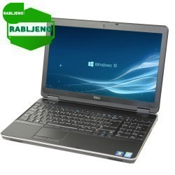 prenosnik DELL Latitude E6540 i7 FHD W10pro 1y