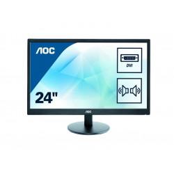 "monitor AOC 24"" E2470Swda FHD, zvočniki"