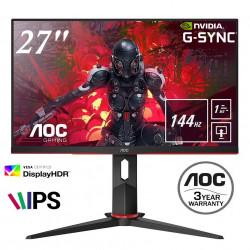 """monitor AOC 27G2U 27"""" IPS 144Hz gaming monitor"""