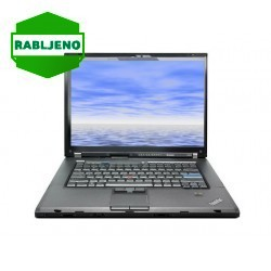 notebook Lenovo ThinkPad T500 C2D T8600 4/160 - rabljen
