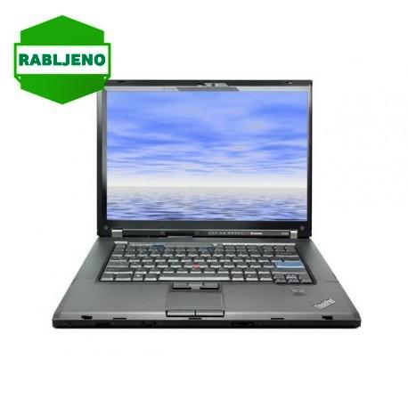 notebook Lenovo ThinkPad T500 C2D T8600 4/160 - rabljen