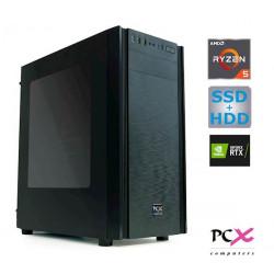 računalnik PCX EXACT i5-9400F/16GB/SSD500GB/1TB/GTX1660 Super-6GB