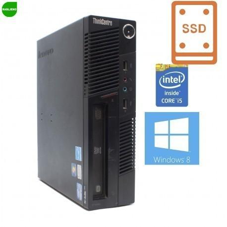 računalnik Lenovo M91p SFF i5 4/160 SSD Win7 pro - rabljen