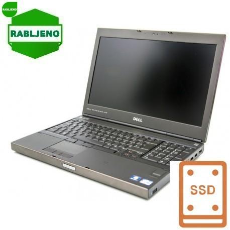 Prenosnik DELL Precision M4700 15.6 FHD i7 8/128 SSD Win7pro 3y