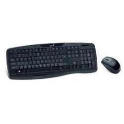 Tipkovnica Genius Brezžična + miška KB-8000X  (31340005105)