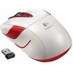 Miš  Logitech NoteBook Brezžična Laser M525 bela nano Unifying White