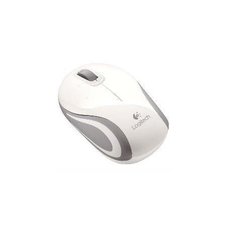 Miš Logitech NoteBook Brezžična optična M187 nano bela