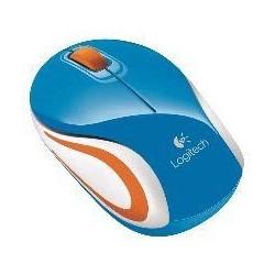 Miš Logitech NoteBook Brezžična optična M187 nano Modra