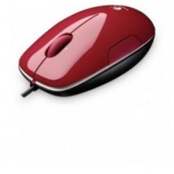 Miš Logitech Laser M150 črno rdeča