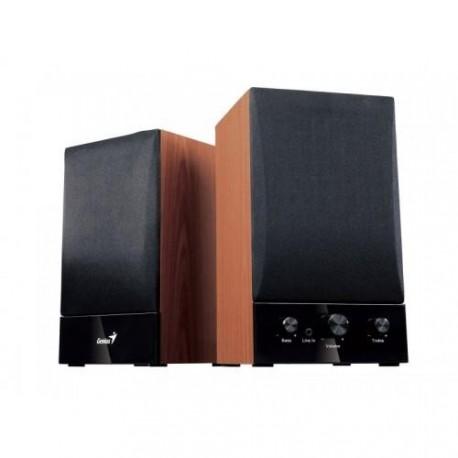 Zvočniki Genius stereo leseni SP-HF1250B