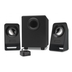 Zvočniki Logitech 2.1 Z213 7W črni