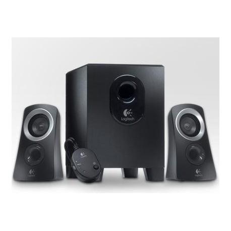 Zvočniki Logitech 2.1 Z313 25W črni