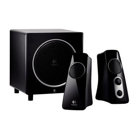 Zvočniki Logitech 2.1 Z523 40W črni