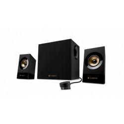 Zvočniki Logitech 2.1 Z533 60W črni