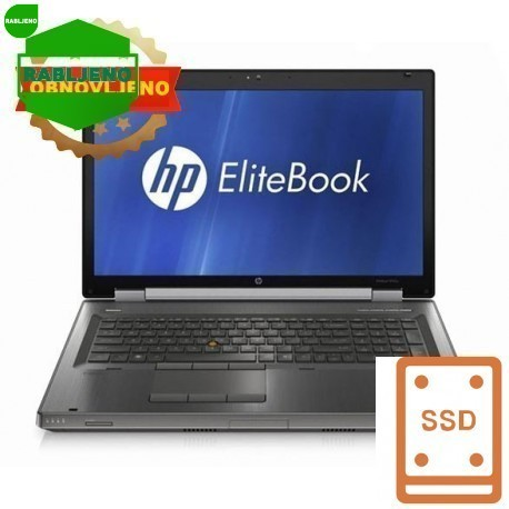 notebook HP EliteBook 8770W i7Q K3000