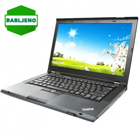 notebook Lenovo ThinkPad T430 i5 4/320 Win7pro rabljen