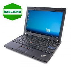 notebook Lenovo ThinkPad X201 i5 4/160 Win7pro - rabljen