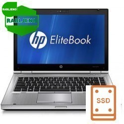notebook HP EliteBook 8470p i5 4/500 3G  Win7pro - 12 mes.garancije! - rabljen