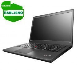 notebook Lenovo ThinkPad T440 i5 8/160 SSD W8p rabljen