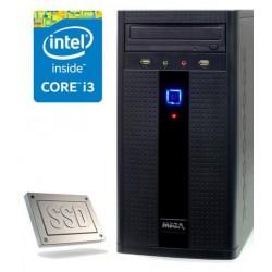 Računalnik MEGA 2000 i3-4170/4GB/SSD120GB/HD4400