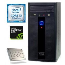 Računalnik MEGA 2000 i3-7100/8GB/SSD240GB/1TB/GTX1050-2GB