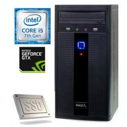 Računalnik MEGA 2000 i5-7400/8GB/SSD240GB/1TB/GTX1050Ti-4GB