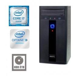 Računalnik MEGA 2000 i7-7700/8GB/16GB-Optane+2TB/HD-630 Grafika