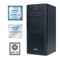Računalnik MEGA 4000 i3-7100/4GB/Optane 16GB+1TB/HD-630