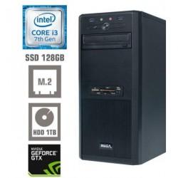 Računalnik MEGA 4000 i3-7100/4GB/SSD120GB/1TB/GT1030-2GB