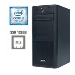 Računalnik MEGA 4000 i3-7100/4GB/SSD128GB/HD630