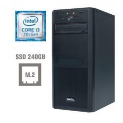 Računalnik MEGA 4000 i3-7100/8GB/SSD256GB/HD630
