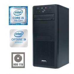 Računalnik MEGA 4000 i5-7400/8GB/Optane 16GB+1TB/GTX1050Ti-4GB
