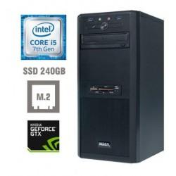 Računalnik MEGA 4000 i5-7400/8GB/SSD256GB/GTX1060-3GB