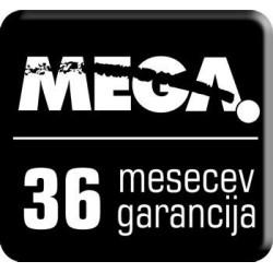 Podaljšanje garancije MEGA serija 6000 na 3 leta