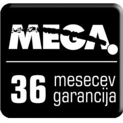 Podaljšanje garancije MEGA serija 8000 na 3 leta