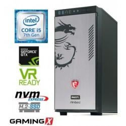 Računalnik MEGA 8000 Dragon i5-7600K/16GB/SSD256GB-NVMe/2TB/GTX1070-8GB