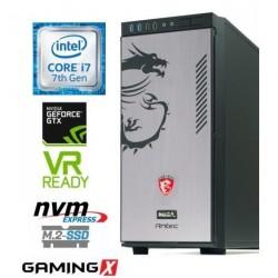 Računalnik MEGA 8000 Dragon i7-7700/16GB/SSD256GB-NVMe/2TB/GTX1080-8GB