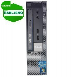 računalnik Dell OptiPlex 790 USFF i3 W10p rabljen