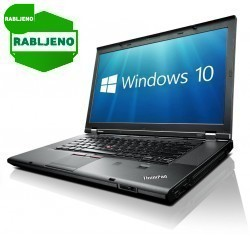 notebook Lenovo ThinkPad T530 i5 4/320 Win7pro nov!