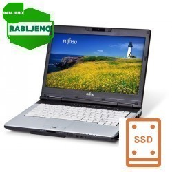 notebook Fujitsu LifeBook E780 i5 4/160 /Win7pro s serijskim portom - rabljen