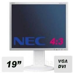 "monitor 19"" LCD monitor NEC EA190M , pivot, rabljen"