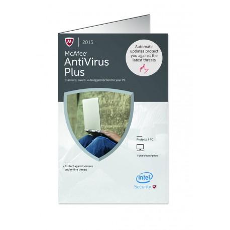 antivirusni program McAfee Antivirus Plus