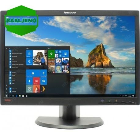 "monitor 22"" LCD Lenovo LT2252pwA, pivot, rabljen"
