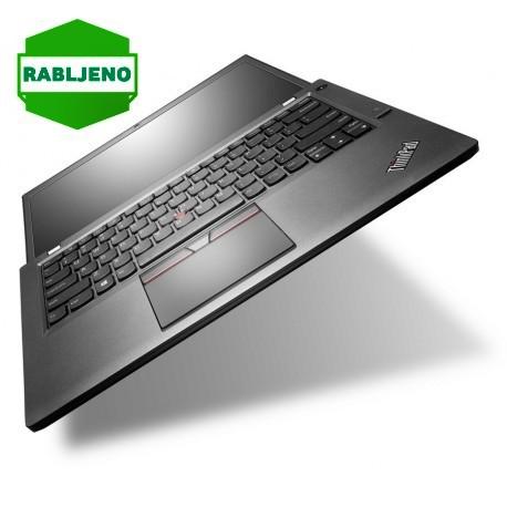 notebook Lenovo ThinkPad T450s i5 4/500+16 HD+