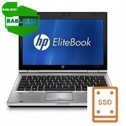 notebook HP EliteBook 2560p i5 4/320 3g Win7pro - rabljen