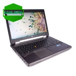 notebook HP EliteBook 8560W i7 FHD s Quadro 1000 rabljen